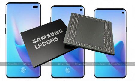 Samsung Galaxy S10 Series with LPDDR5 RAM