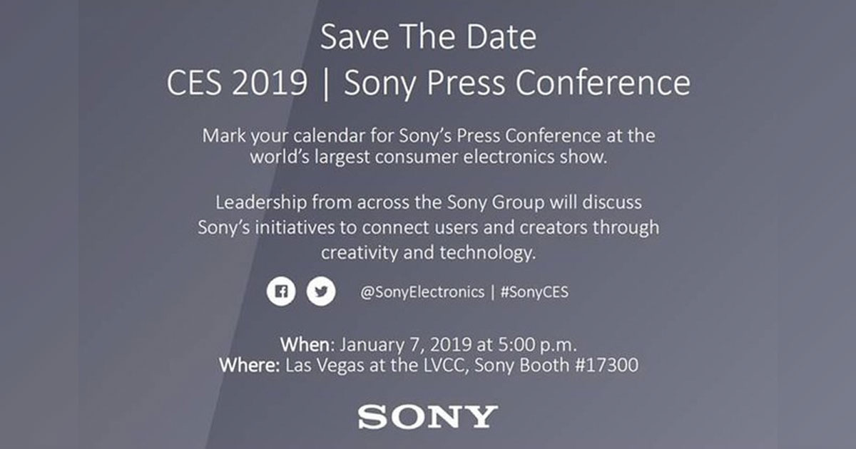 Sony Mobile CES 2019