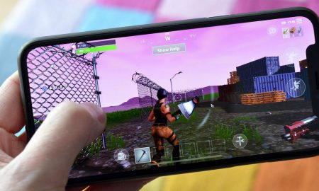 iPhone X Fortnite Gaming