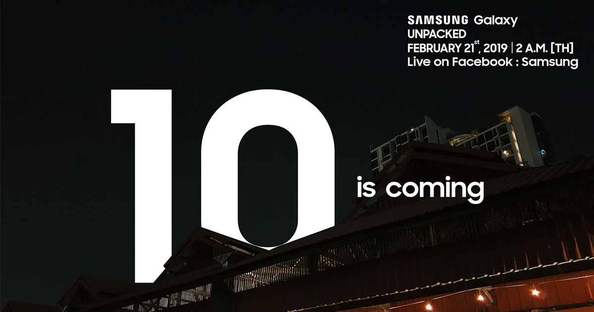Samsung ปล่อยแคมเปญ 10 is coming