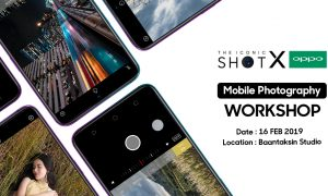 "THE ICONIC SHOT X OPPO"" MOBILE PHOTOGRAPHY WORKSHOP"