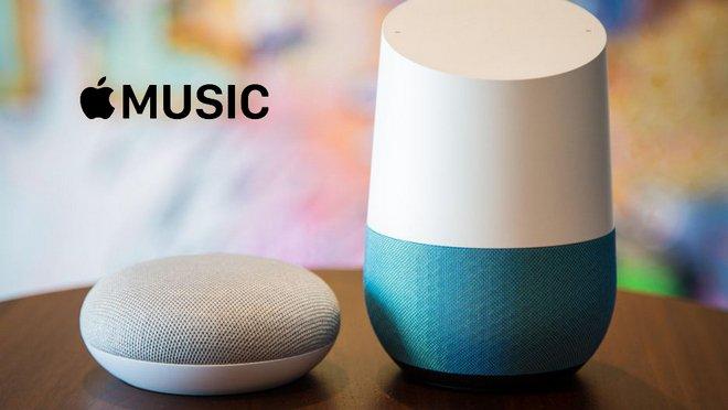 Apple Music on Google Home