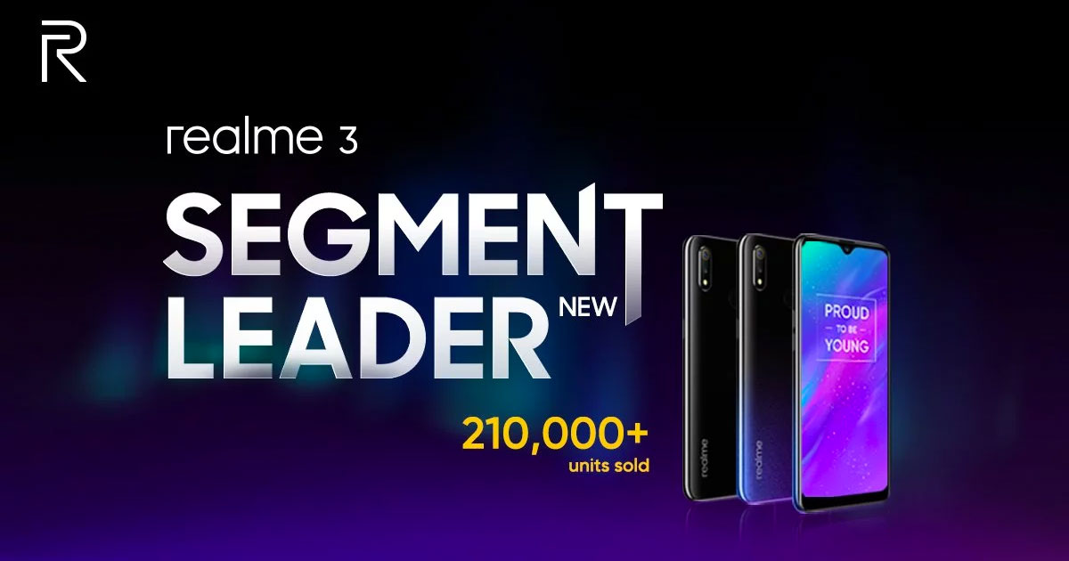 Realme 3 Sold out