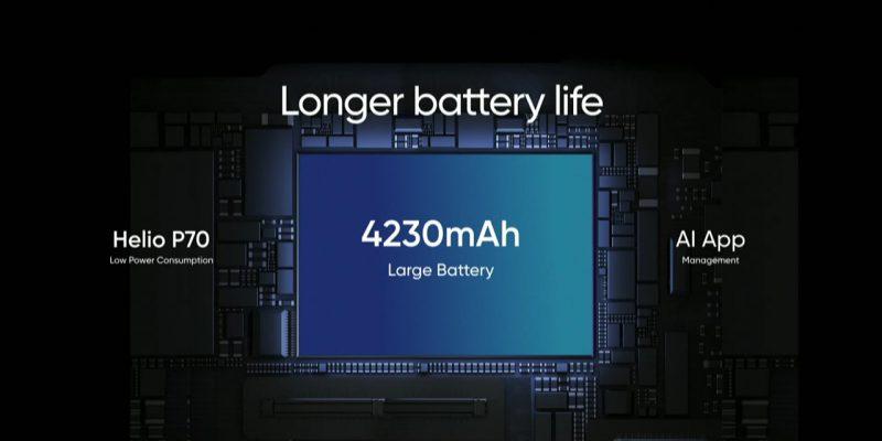Realme 3 battery