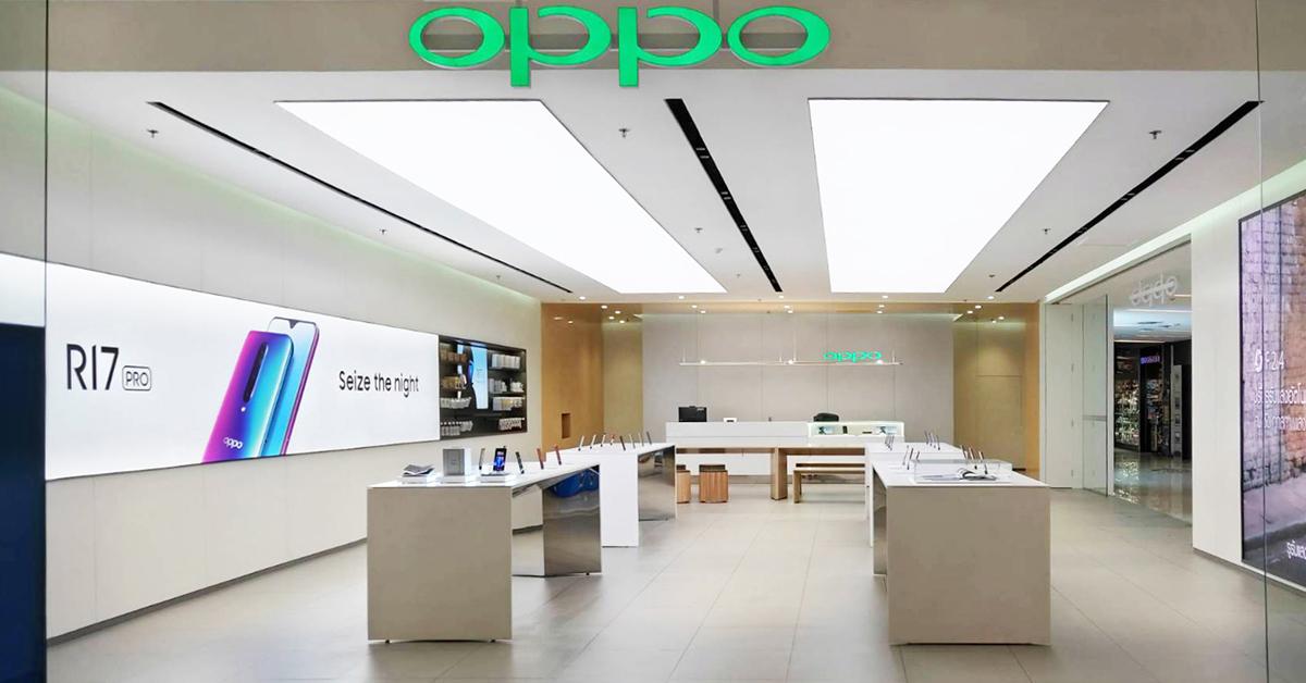 งานเปิดตัว OPPO Experience Store ในรูปแบบ High-end