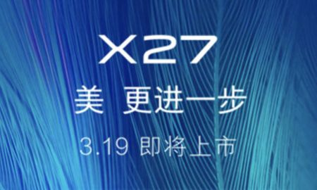 Vivo X27 is coming