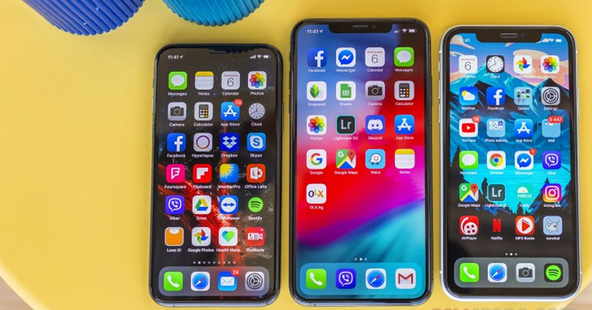 iPhone Display All