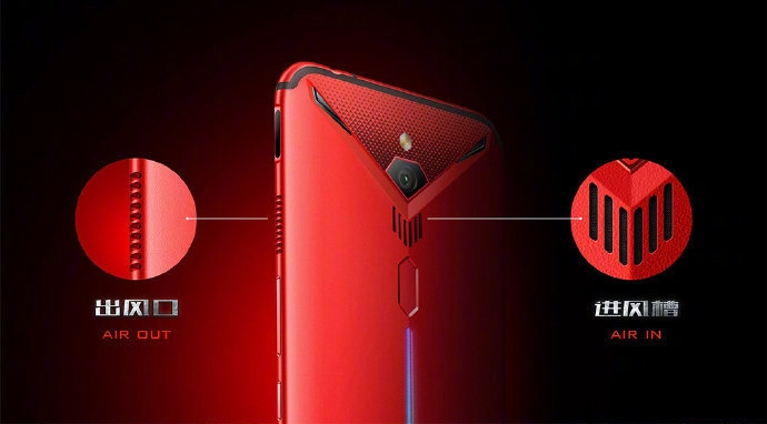 Nubia Red Magic 3 Cooling System