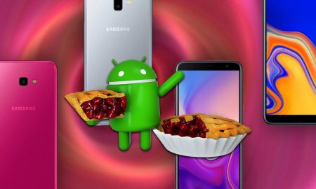 Samsung Galaxy J4, J4 plus and J6 plus android pie update