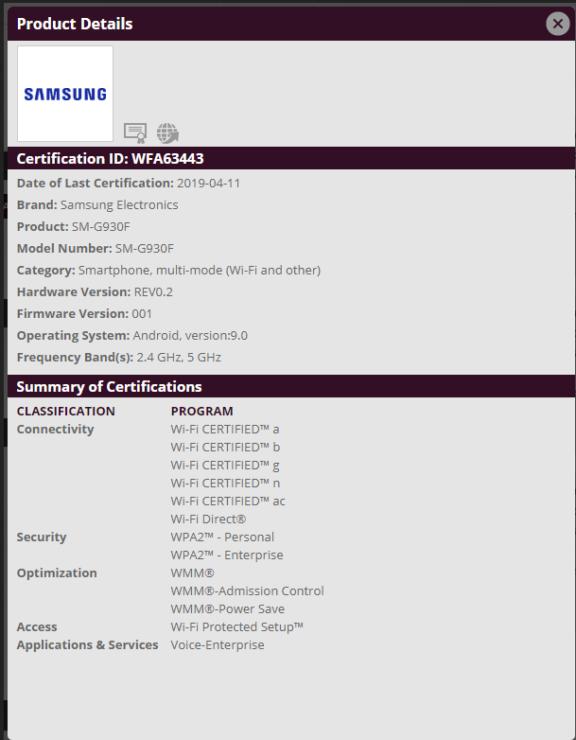 Samsung ขอ WiFi Certified ให้กับ Galaxy S7 อาจเป็นสัญญาณ