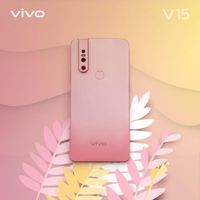 Vivo V15 Blossom Pink