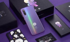 Xiaomi ร่วมกับ LINE Friends ออกรุ่นพิเศษ Xiaomi Mi 9 SE Brown Bear Limited Edition Set
