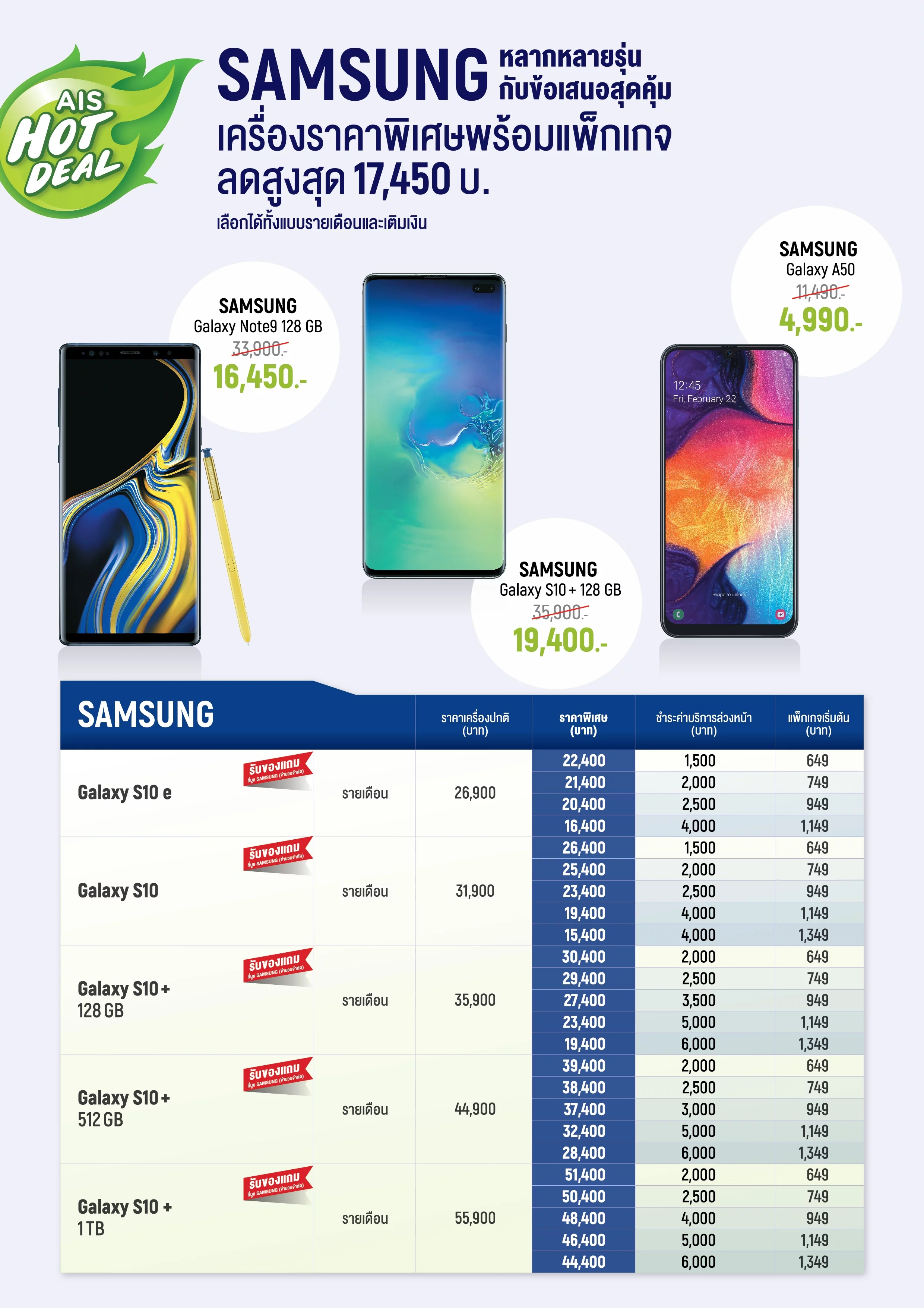 AIS Hot Deal Smartphone at Mid TME 2019 – 1