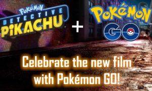 Detective Pikachu Pokemon Go Crossover Event