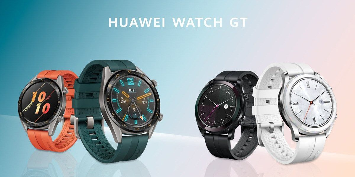 HUAWEI Watch GT Classic and Elegant editions