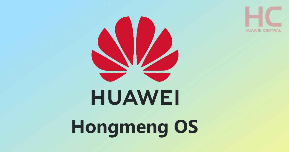 Hongmeng OS by Huawei