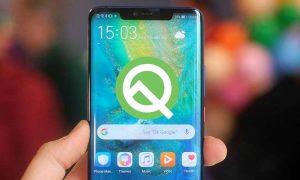 Huawei Mate 20 Pro Android Q Beta Program
