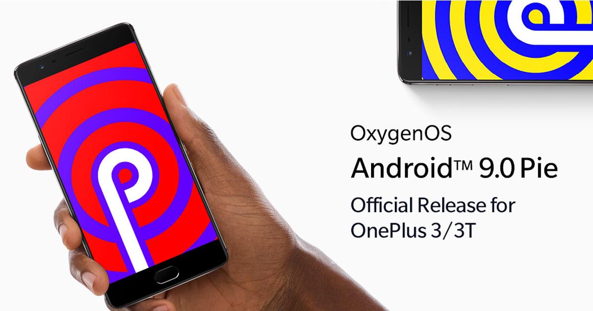 OnePlus 3 Series Android Pie