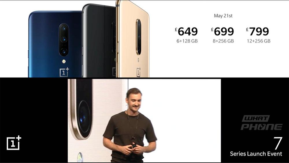 OnePlus 7 Pro สมาร์ทโฟนนักฆ่าเรือธง 2019 เปิดตัวอย่างเป็น