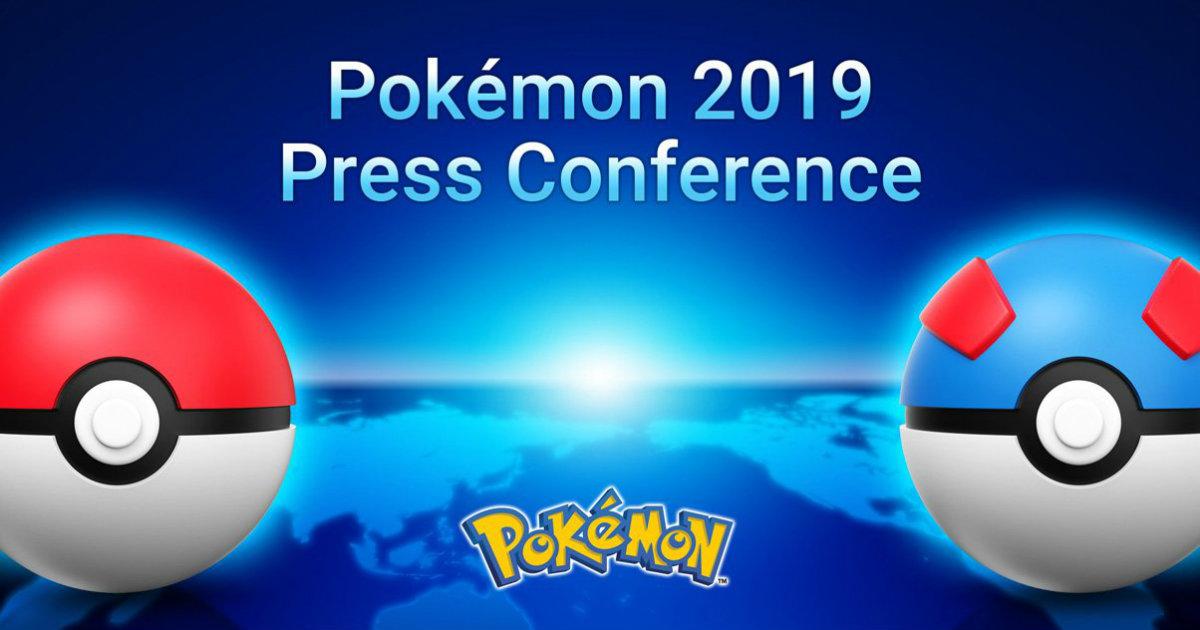 Pokemon 2019 Press Conference Header