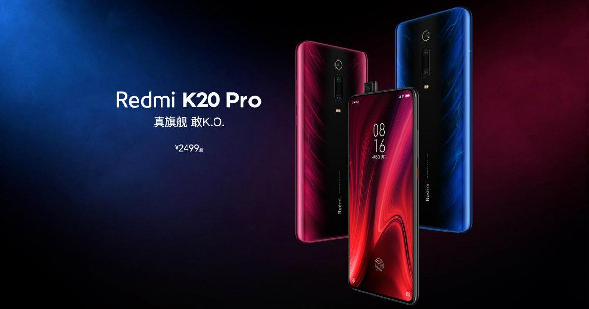 Redmi K20 Pro Header