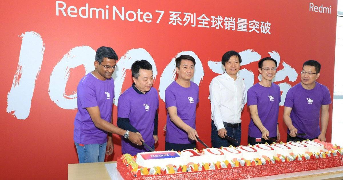 Redmi Note 7 sells in 10 million