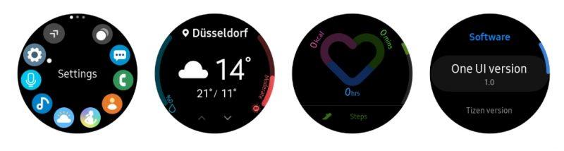 Samsung Galaxy Watch One UI