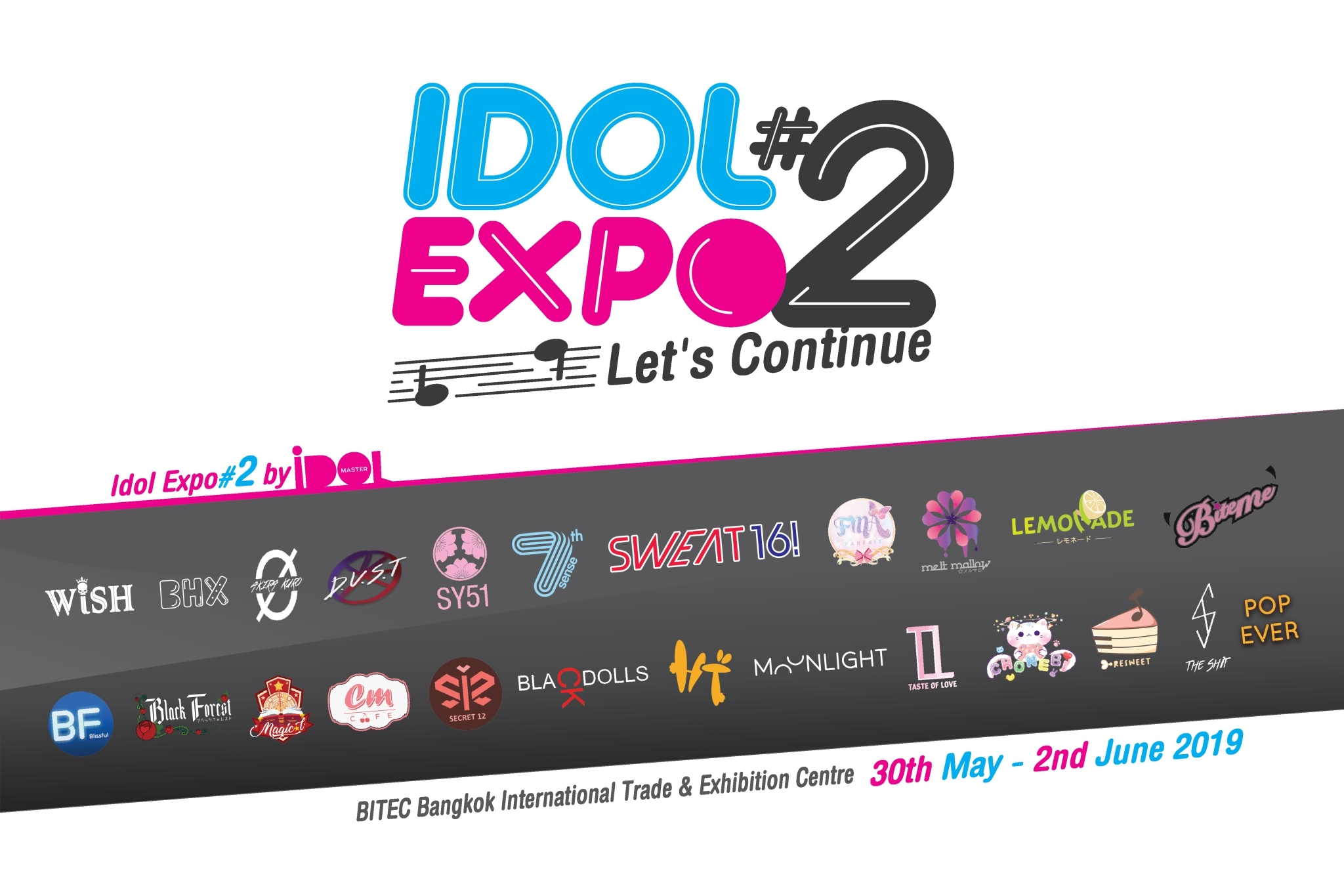 idol expo part 2 let is continue may 2019