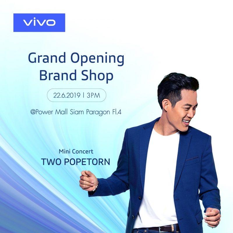 vivo Grand opening brand shop Siam paragon