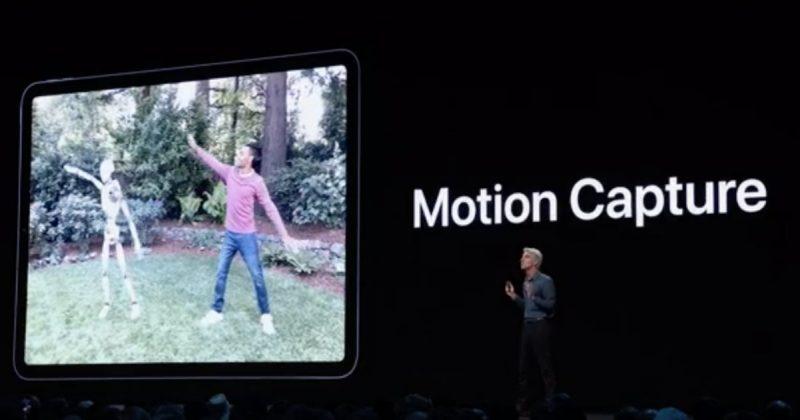 ARKit 3 Motion Capture