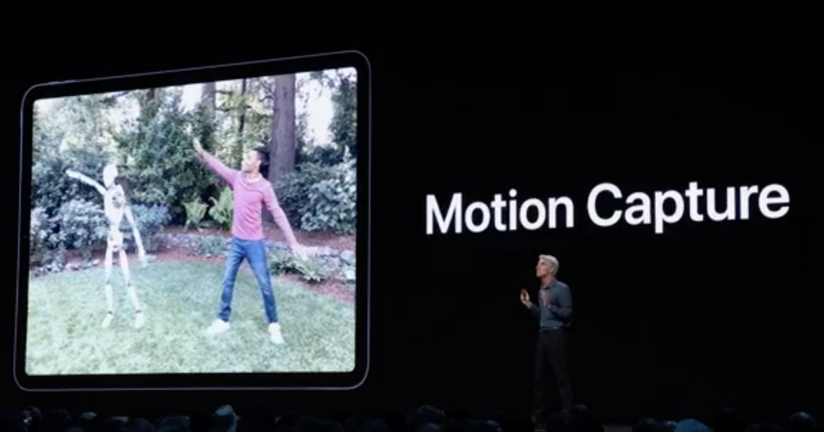 ARKit 3 Motion Capture Header