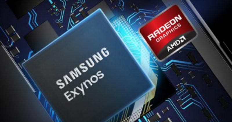 Samsung AMD Exynos RDNA chip