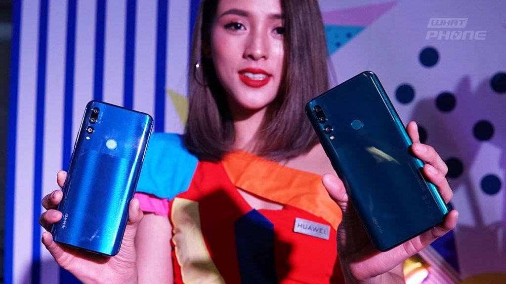 สมาร์ทโฟน, กล้องหน้าจอ, ป๊อปอัพหน้าจอขนาดใหญ่ เต็มไปด้วยสมาร์ทโฟนรุ่นล่าสุดจาก Y Series จาก Huawei Y9 Prime 2019
