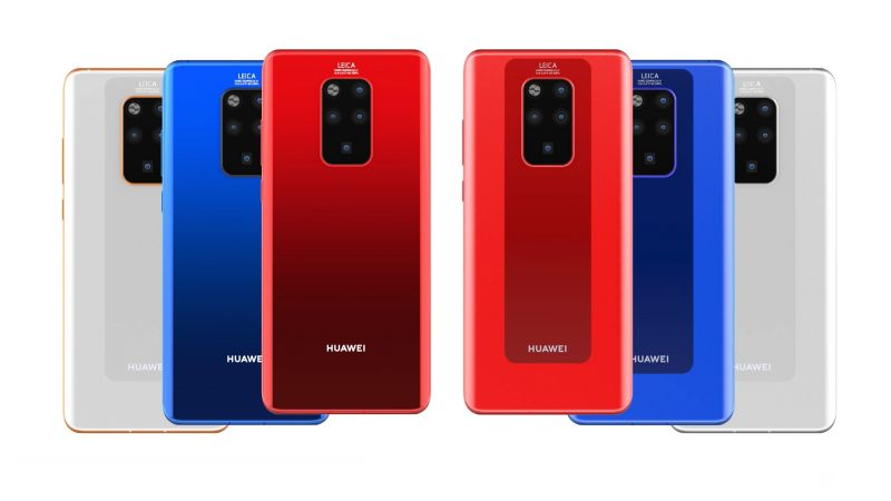Huawei Mate 30 Pro Rear Camera