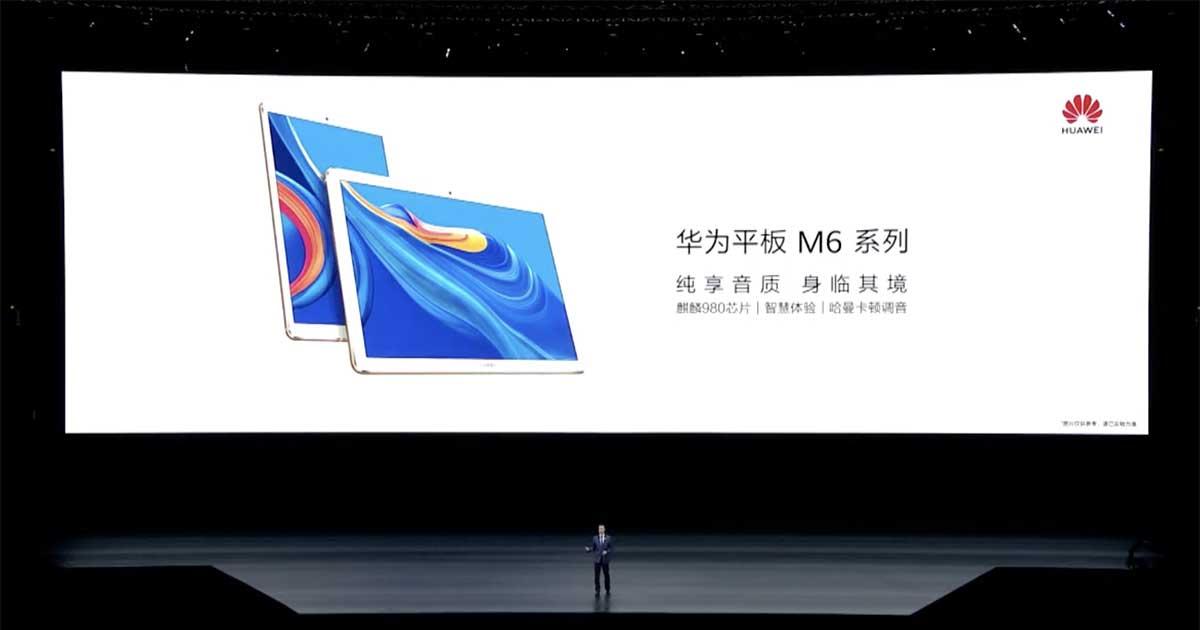 Huawei MediaPad M6 Series