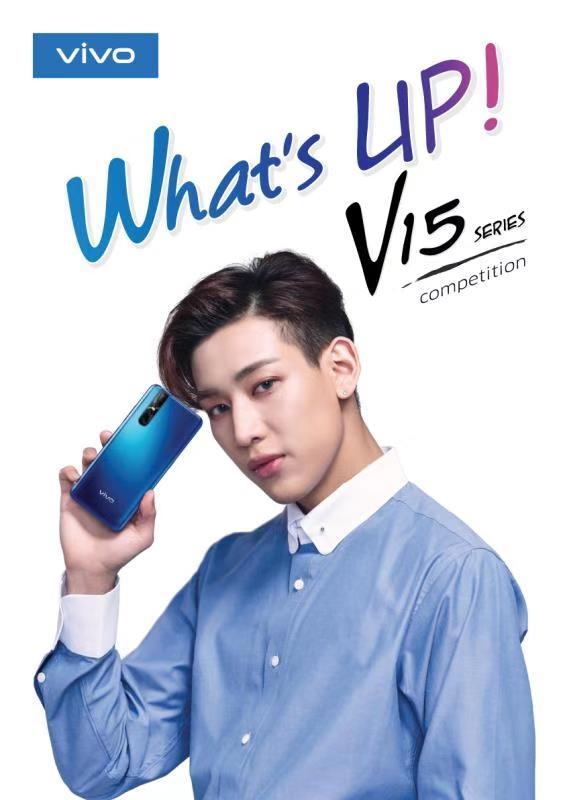 Vivo Whats Up V15 Series with bambam got7