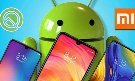Xiaomi with Android Q