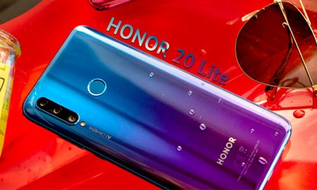introduce Honor 20 Lite a triple lens smartphone