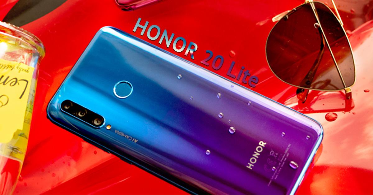 introduce Honor 20 Lite a triple lens smartphone