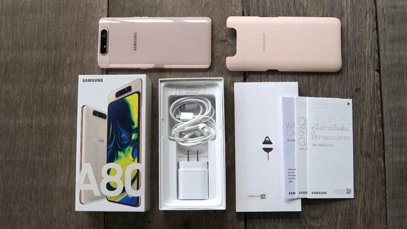 รีวิว Samsung Galaxy A80