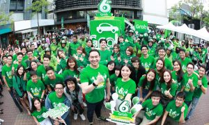 Grab 6th anniversary in Thailand