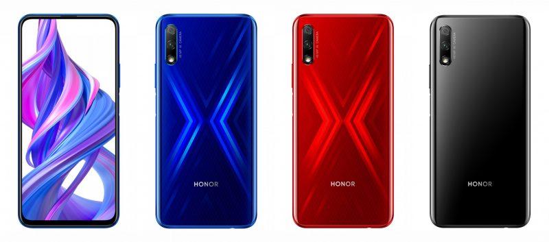 Honor 9X colors