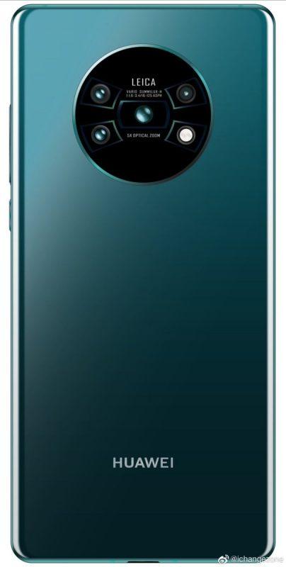 Huawei Mate 30 Pro Back Render 2