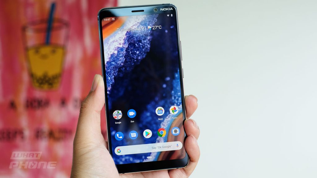 Home screen Pure Android Nokia 9 PureView