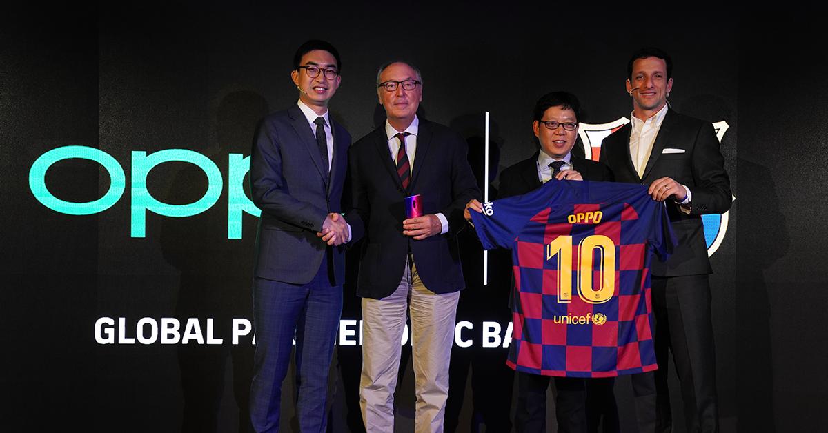 OPPO Reno 10x Zoom Limited Edition x FC Barcelona