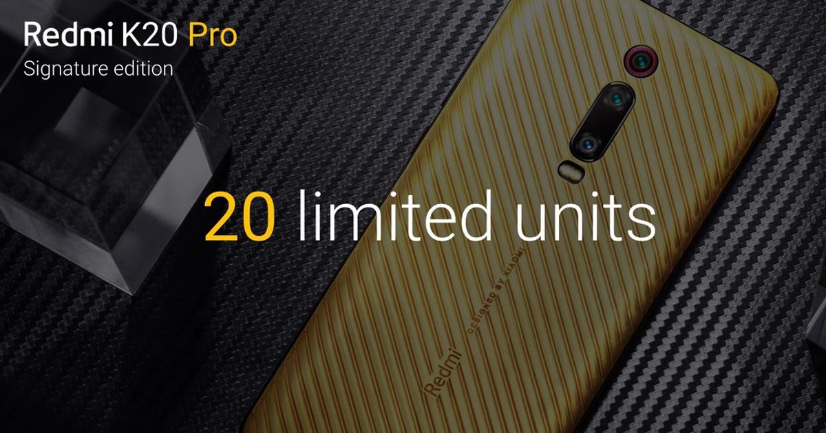 Redmi K20 Pro - Signature Edition