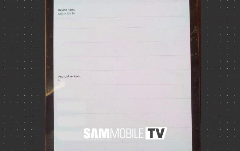 Samsung Galaxy Tab S6 - Name