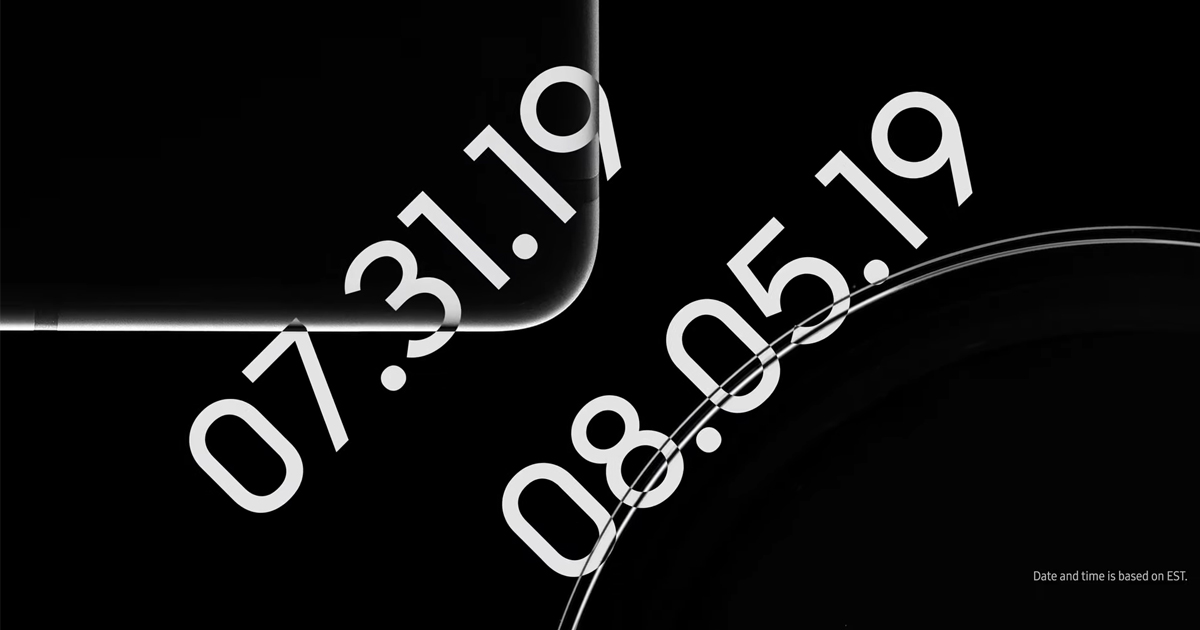 Samsung reveals launch dates for Galaxy Tab S6 and Galaxy Watch Active 2