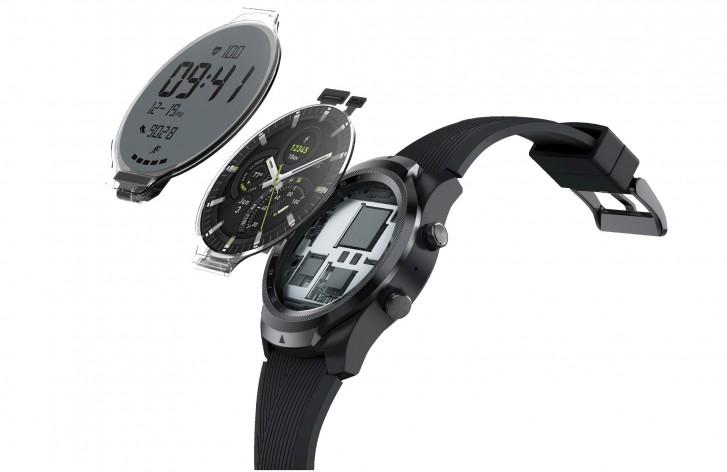 Ticwatch Pro 4g Display