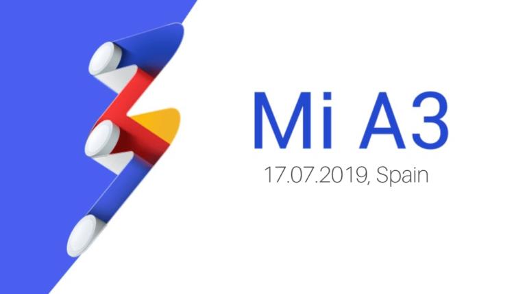 Xiaomi Mi A3 Release Date